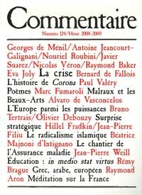 Georges de Ménil - Commentaire N° 124, Hiver 2008-2 : .