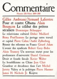 Alain Besançon et Richard Seaford - Commentaire N° 128, Hiver 2008-2 : .