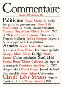 Jean-Claude Casanova - Commentaire N° 143, Automne 2013 : .