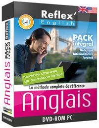 Commest Multimédia - Anglais Reflex'English Pack Intégral Niveaux 1, 2, 3 - Avec un manuel, un micro-casque. 1 Cédérom