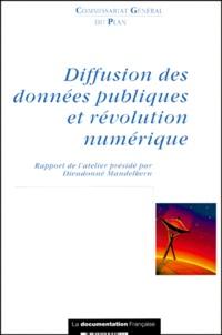Commissariat Général du Plan - Diffusion des données publiques et révolution numérique.