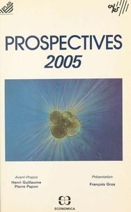 Commissariat Général du Plan et  Centre national de la recherch - Prospectives 2005 : explorations de l'avenir.