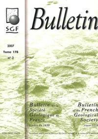 Michel Fauré - Bulletin de la Société Géologique de France Tome 178 N° 2/2007 : .