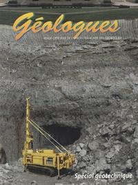 Gérard Sustrac - Géologues N° 132, Mars 2002 : Spécial géotechnique.