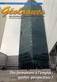 Gérard Sustrac - Géologues N° 172, Mars 2012 : Des formations à l'emploi : quelles perspectives ?.