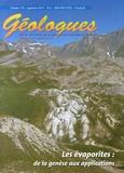 Gérard Sustrac - Géologues N° 174, Septembre 20 : Les évaporites : de la genèse aux applications.