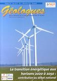 Gérard Sustrac - Géologues N° 176, Mars 2013 : La transition énergétique aux horizons 2020 à 2050 : contribution au débat national.