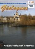 Gérard Sustrac - Géologues N° 184, mars 2015 : Risques d'inondation et littoraux.