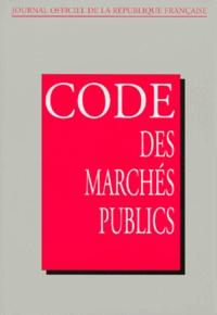 Commission Centrale Marchés et  Journaux officiels - .