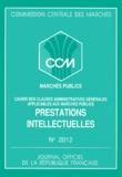 Commission Centrale Marchés - .