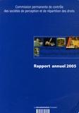 Commission contrôle des SPRD - Troisième rapport annuel.