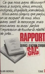 Commission d'enquête sur les a et Louis Odru - Rapport de la Commission d'enquête sur les activités du service d'action civique (2).