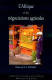 Commission Economique Afrique et Hakim Ben Hammouda - L'Afrique et les négociations agricoles.