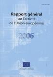Commission européenne - rapport general sur l'activite de l'union européenne.