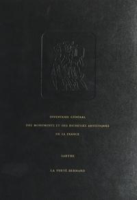 Commission régionale Pays de l et Bernard Emmanuelle - Inventaire général des monuments et des richesses de la France : Sarthe, canton La Ferté-Bernard.