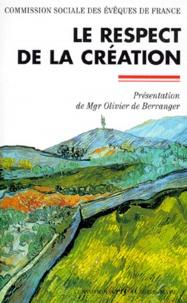 Commission sociale des évêques - Le respect de la création.