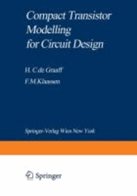 Compact Transistor Modelling for Circuit Design.