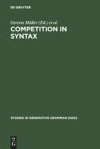 Competition in Syntax.