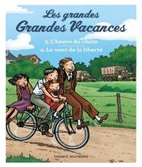 Emile Bravo - Compilation Les grandes grandes vacances : L'heure du choix, Le vent de la liberté.