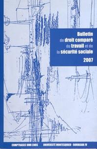 Philippe Auvergnon et Isabelle Daugareilh - Bulletin de droit comparé du travail de la sécurité sociale 2007 : Le travail en prison.