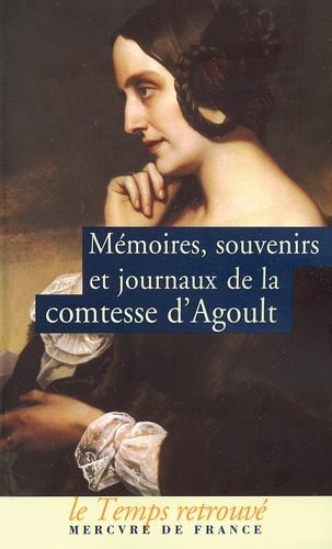 Comtesse d'Agoult - Mémoires, souvenirs et journaux.