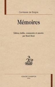Comtesse de Boigne - Mémoires.