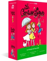Comtesse de Ségur - Comtesse de Ségur La trilogie de Fleur : Coffret en 3 volumes - Tome 1, Les Malheurs de Sophie ; Tome 2, Les petites filles modèles ; Tome 3, Les vacances.