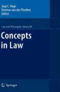 Jaap C. Hage - Concepts in Law.