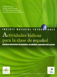 Concha Moreno et Rosa Garcia Pimentel - Actividades ludicas para la clase de espanol.