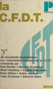 Confédération française démocr et Marcel Gonin - La C.F.D.T..