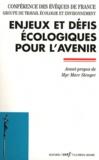 Conférence Evêques de France - Enjeux et défis écologiques pour l'avenir.