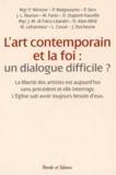 Conférence évêques de France - L'art contemporain et la foi : un dialogue difficile ?.