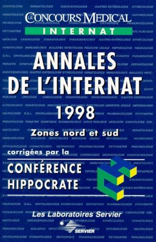 Conférence Hippocrate - ANNALES DE L'INTERNAT 1998. - Zones nord et sud.