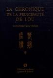 Confucius - La chronique de la principauté de Lou.