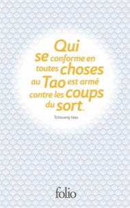 Confucius et  Tchouang-tseu - Sagesses - Tome 1, Coffret 3 volumes : Les Entretiens ; Joie suprême ; Corps et esprit.