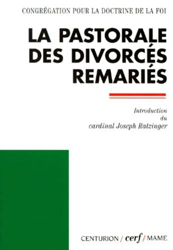 Congrégation Doctrine de Foi - La pastorale des divorcés remariés - [lettre aux évêques de l'Église catholique sur l'accès à la communion eucharistique de la part des fidèles divorcés remariés , [14 septembre 1994.