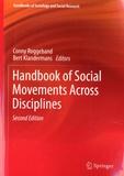 Conny Roggeband et Bert Klandermans - Handbook of Social Movements Across Disciplines.