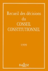Conseil constitutionnel et  Collectif - .