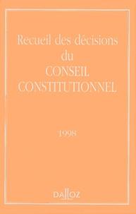 Conseil constitutionnel - .