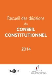 Recueil des décisions du Conseil constitutionnel -  Conseil constitutionnel |