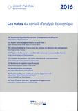 Conseil d'Analyse Economique - Les notes du conseil d'analyse économique.