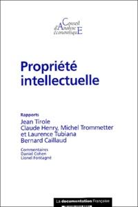 Conseil d'Analyse Economique et Jean Tirole - Propriété intellectuelle.