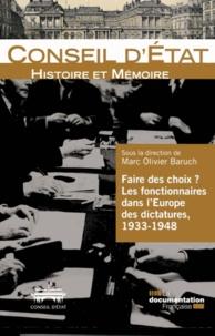 Faire des choix ? - Les fonctionnaires dans lEurope des dictatures, 1933-1948.pdf
