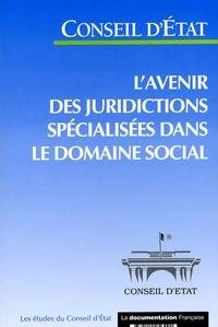 Conseil d'Etat - L'avenir des juridictions spécialisées dans le domaine social.