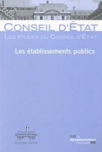 Conseil d'Etat - Les établissements publics.