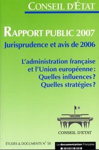 Conseil d'Etat - Rapport public 2007.