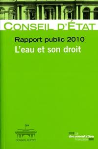 Conseil d'Etat - Rapport public 2010 - L'eau et son droit.