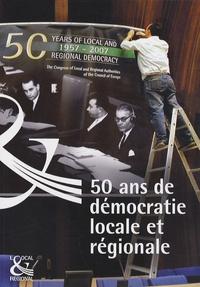 Conseil de l'Europe - 50 ans de démocratie locale en Europe.