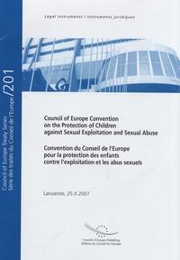 Convention du Conseil de lEurope pour la protection des enfants contre lexploitation et les abus sexuels - Edition bilingue français-anglais.pdf