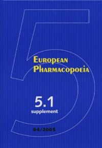 Accentsonline.fr European Pharmacopoeia - Supplement 5.1 Image